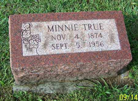 TRUE GERMAN, MINNIE - Tuscarawas County, Ohio | MINNIE TRUE GERMAN - Ohio Gravestone Photos