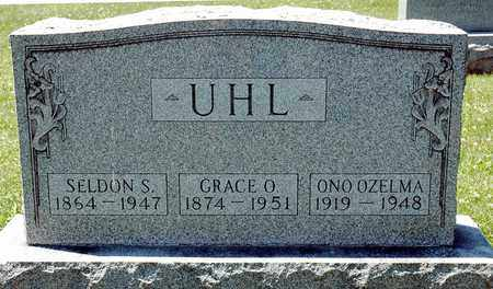 UHL, ONO OZELMA - Tuscarawas County, Ohio | ONO OZELMA UHL - Ohio Gravestone Photos