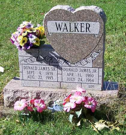 WALKER, DONALD JAMES SR. - Tuscarawas County, Ohio | DONALD JAMES SR. WALKER - Ohio Gravestone Photos