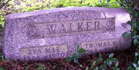 WALKER, EVA MAE - Tuscarawas County, Ohio | EVA MAE WALKER - Ohio Gravestone Photos