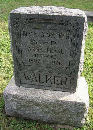 CHANEY WALKER, ANNA PEARL - Tuscarawas County, Ohio | ANNA PEARL CHANEY WALKER - Ohio Gravestone Photos