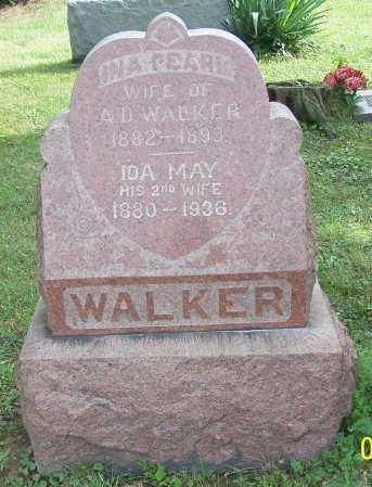 WALKER, IDA MAY - Tuscarawas County, Ohio | IDA MAY WALKER - Ohio Gravestone Photos