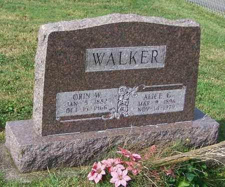 WALKER, ORIN W. - Tuscarawas County, Ohio | ORIN W. WALKER - Ohio Gravestone Photos