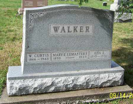 WALKER, ADA L. - Tuscarawas County, Ohio | ADA L. WALKER - Ohio Gravestone Photos