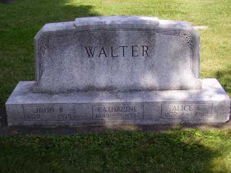 WALTER, ALICE - Tuscarawas County, Ohio | ALICE WALTER - Ohio Gravestone Photos