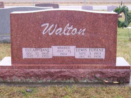 WALTON, LEWIS EUGENE - Tuscarawas County, Ohio | LEWIS EUGENE WALTON - Ohio Gravestone Photos
