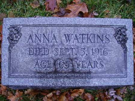 WATKINS, ANNA - Tuscarawas County, Ohio | ANNA WATKINS - Ohio Gravestone Photos