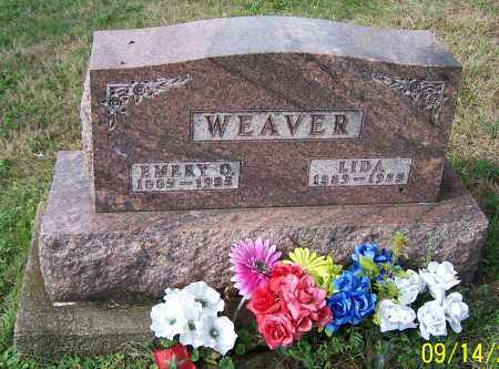 WEAVER, LIDA - Tuscarawas County, Ohio | LIDA WEAVER - Ohio Gravestone Photos