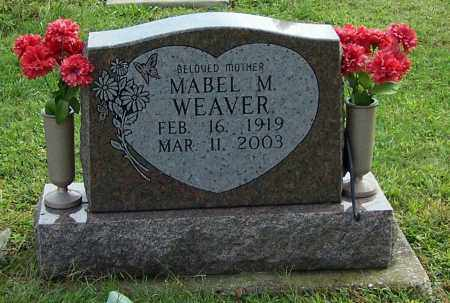 WEAVER, MABEL M. - Tuscarawas County, Ohio | MABEL M. WEAVER - Ohio Gravestone Photos
