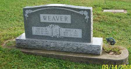 WEAVER, JAMES A. - Tuscarawas County, Ohio | JAMES A. WEAVER - Ohio Gravestone Photos