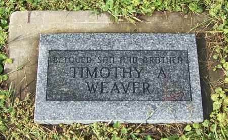 WEAVER, TIMOTHY A. - Tuscarawas County, Ohio | TIMOTHY A. WEAVER - Ohio Gravestone Photos