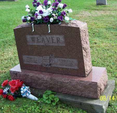 WEAVER, CHARLES E. - Tuscarawas County, Ohio | CHARLES E. WEAVER - Ohio Gravestone Photos