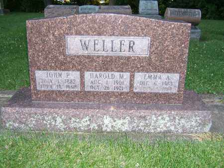 WELLER, HAROLD M - Tuscarawas County, Ohio | HAROLD M WELLER - Ohio Gravestone Photos