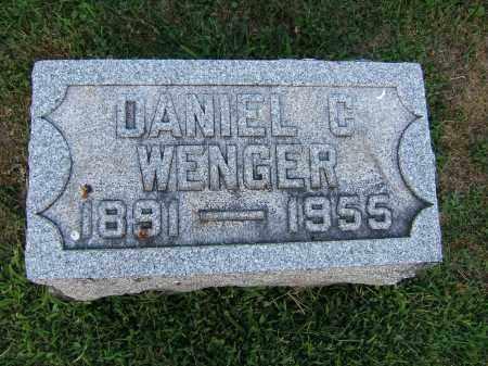 WENGER, DANIEL C. - Tuscarawas County, Ohio | DANIEL C. WENGER - Ohio Gravestone Photos