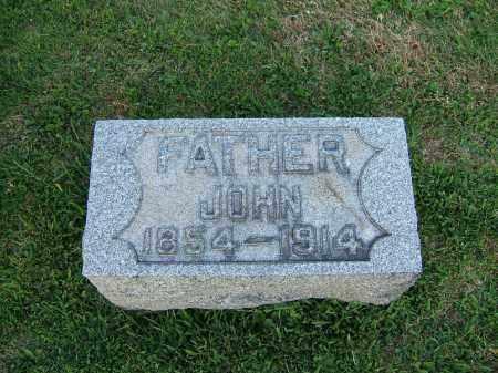 WENGER, JOHN - Tuscarawas County, Ohio | JOHN WENGER - Ohio Gravestone Photos