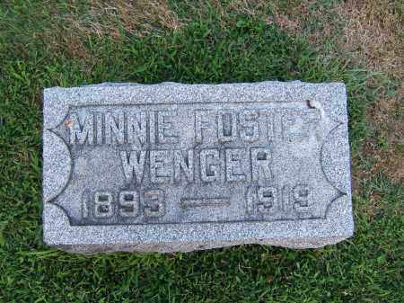 WENGER, MINNIE - Tuscarawas County, Ohio | MINNIE WENGER - Ohio Gravestone Photos