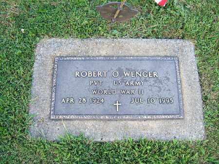 WENGER, ROBERT O. - Tuscarawas County, Ohio | ROBERT O. WENGER - Ohio Gravestone Photos