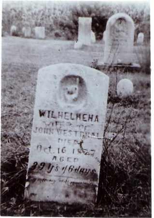WESTPHAL, WILHELMINA AMANDA - Tuscarawas County, Ohio | WILHELMINA AMANDA WESTPHAL - Ohio Gravestone Photos