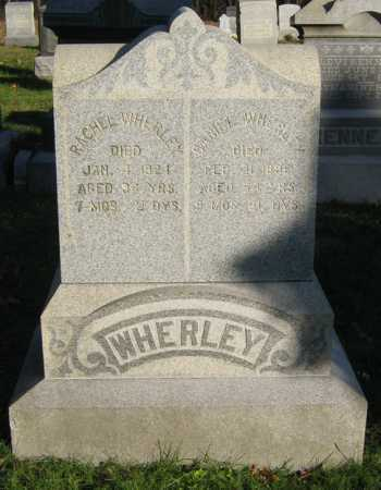 EVERHART WHERLEY, RACHEL - Tuscarawas County, Ohio | RACHEL EVERHART WHERLEY - Ohio Gravestone Photos