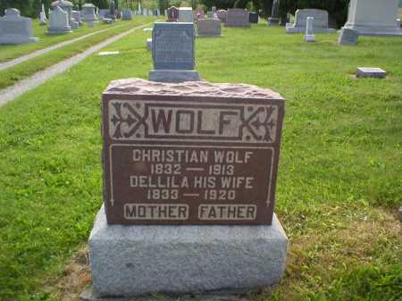 WOLF, CHRISTIAN - Tuscarawas County, Ohio | CHRISTIAN WOLF - Ohio Gravestone Photos