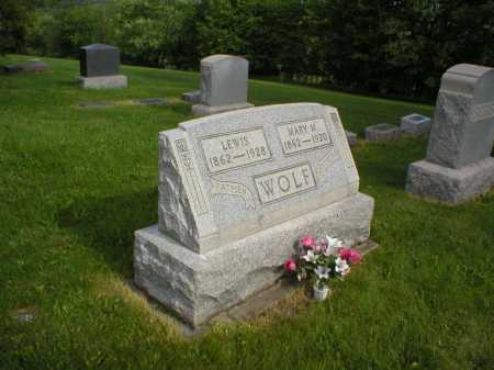 MIZER STAHL WOLF, MARY - Tuscarawas County, Ohio | MARY MIZER STAHL WOLF - Ohio Gravestone Photos