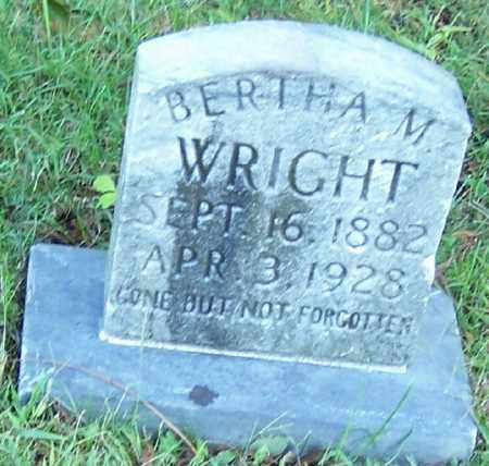 WRIGHT, BERTHA M. - Tuscarawas County, Ohio | BERTHA M. WRIGHT - Ohio Gravestone Photos