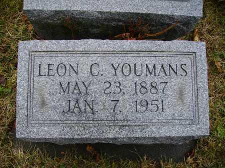 YOUMANS, LEON C. - Tuscarawas County, Ohio | LEON C. YOUMANS - Ohio Gravestone Photos