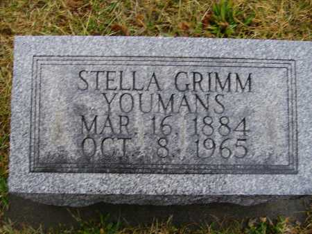 YOUMANS, STELLA - Tuscarawas County, Ohio | STELLA YOUMANS - Ohio Gravestone Photos