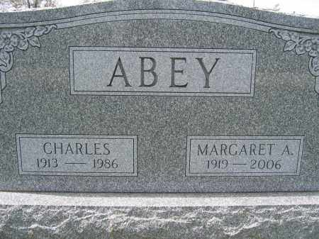 ABEY, MARGARET A. - Union County, Ohio | MARGARET A. ABEY - Ohio Gravestone Photos