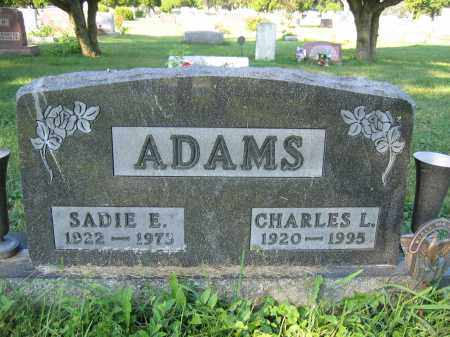 ADAMS, CHARLES L. - Union County, Ohio | CHARLES L. ADAMS - Ohio Gravestone Photos