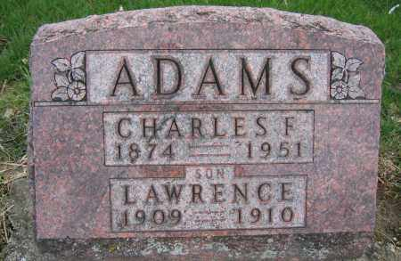 ADAMS, CHARLES F. - Union County, Ohio | CHARLES F. ADAMS - Ohio Gravestone Photos