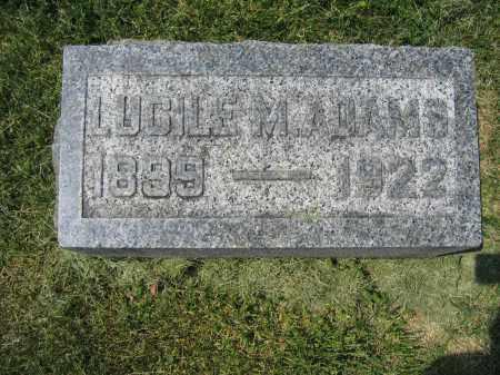 ADAMS, LUCILE M. - Union County, Ohio | LUCILE M. ADAMS - Ohio Gravestone Photos