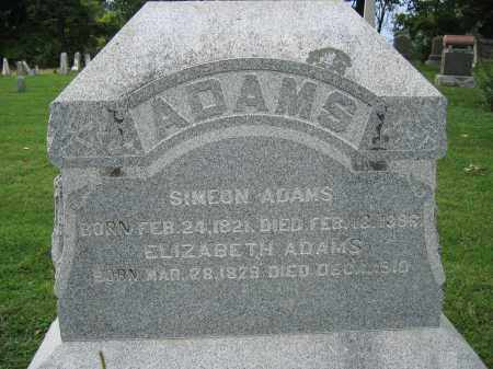 ADAMS, SIMEON - Union County, Ohio | SIMEON ADAMS - Ohio Gravestone Photos