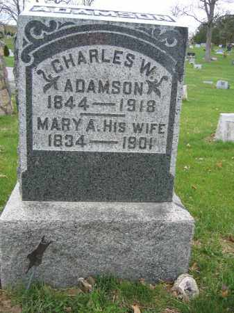 ADAMSON, MARY A. - Union County, Ohio | MARY A. ADAMSON - Ohio Gravestone Photos