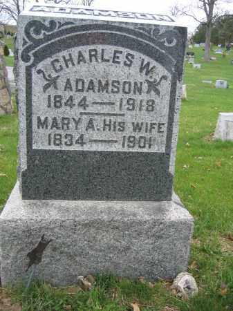 ADAMSON, CHARLES W. - Union County, Ohio | CHARLES W. ADAMSON - Ohio Gravestone Photos