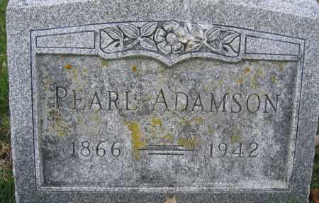 ADAMSON, PEARL - Union County, Ohio | PEARL ADAMSON - Ohio Gravestone Photos