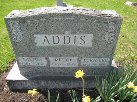 ADDIS, LORA LEE - Union County, Ohio | LORA LEE ADDIS - Ohio Gravestone Photos