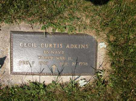ADKINS, CECIL CURTIS - Union County, Ohio | CECIL CURTIS ADKINS - Ohio Gravestone Photos