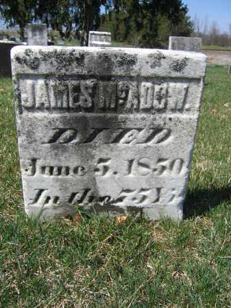 MCADOW, JAMES M. - Union County, Ohio | JAMES M. MCADOW - Ohio Gravestone Photos