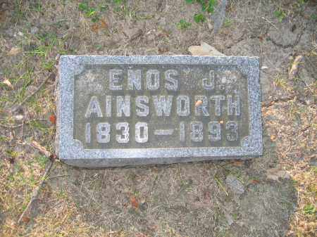 AINSWORTH, ENOS J. - Union County, Ohio | ENOS J. AINSWORTH - Ohio Gravestone Photos