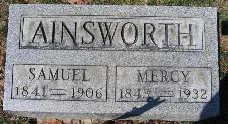 AINSWORTH, MERCY - Union County, Ohio | MERCY AINSWORTH - Ohio Gravestone Photos