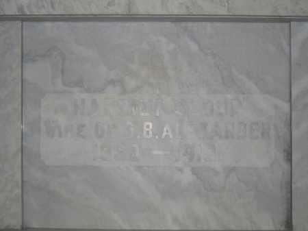 ALEXANDER, HARRIET SLOOP - Union County, Ohio | HARRIET SLOOP ALEXANDER - Ohio Gravestone Photos