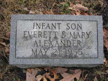 ALEXANDER, INFANT SON - Union County, Ohio | INFANT SON ALEXANDER - Ohio Gravestone Photos