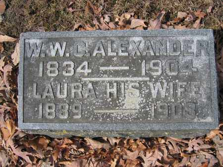 ALEXANDER, LAURA - Union County, Ohio | LAURA ALEXANDER - Ohio Gravestone Photos