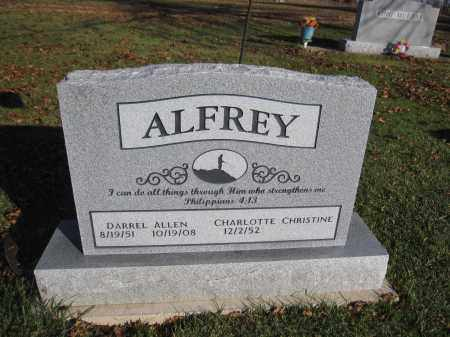 ALFREY, CHARLOTTE CHRISTINE - Union County, Ohio | CHARLOTTE CHRISTINE ALFREY - Ohio Gravestone Photos