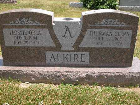 ALKIRE, FLOSSIE ORLA - Union County, Ohio | FLOSSIE ORLA ALKIRE - Ohio Gravestone Photos