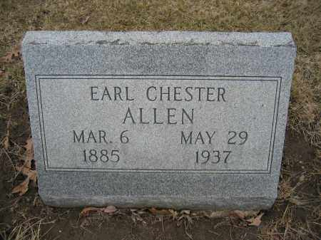 ALLEN, EARL CHESTER - Union County, Ohio | EARL CHESTER ALLEN - Ohio Gravestone Photos