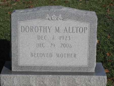 ALLTOP, DOROTHY M. - Union County, Ohio | DOROTHY M. ALLTOP - Ohio Gravestone Photos