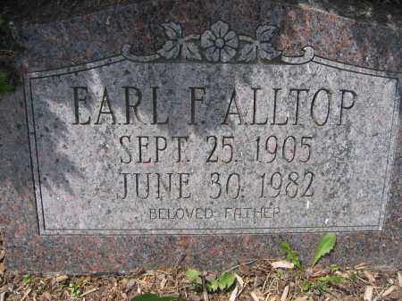 ALLTOP, EARL F. - Union County, Ohio | EARL F. ALLTOP - Ohio Gravestone Photos