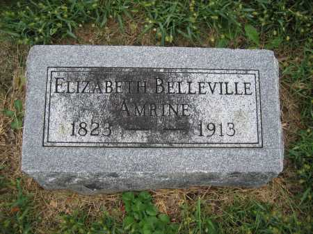 AMRINE, ELIZABETH BELLEVILLE - Union County, Ohio | ELIZABETH BELLEVILLE AMRINE - Ohio Gravestone Photos